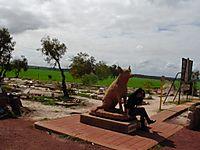 犬のお墓の写真